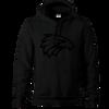 West Coast Eagles Women's Stealth Hoody Black on Black