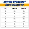 West Coast Eagles Castore Men's Quarter Zip Pullover Royal