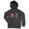 West Coast Eagles Castore Youth Travel Hoody Carbon