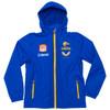 West Coast Eagles Castore Men's Wet Weather Jacket Royal