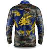 West Coast Eagles Youth Skeletor Fishing Shirt