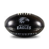 West Coast Eagles Sherrin AFL Super Soft Football Black/Silver