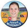 West Coast Eagles 2021 AFLW Player Badge