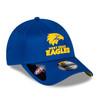 West Coast Eagles New Era 9Forty Media Cap Royal
