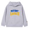West Coast Eagles Cotton On Youth Embroidered Hoody Grey