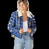 West Coast Eagles Women's Cotton On Sherpa Jacket