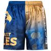 West Coast Eagles Youth Satin Logo Boxer Short