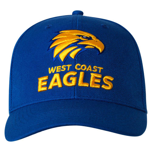 West Coast Eagles Adult Staple Cap