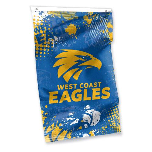 West Coast Eagles Cape Flag