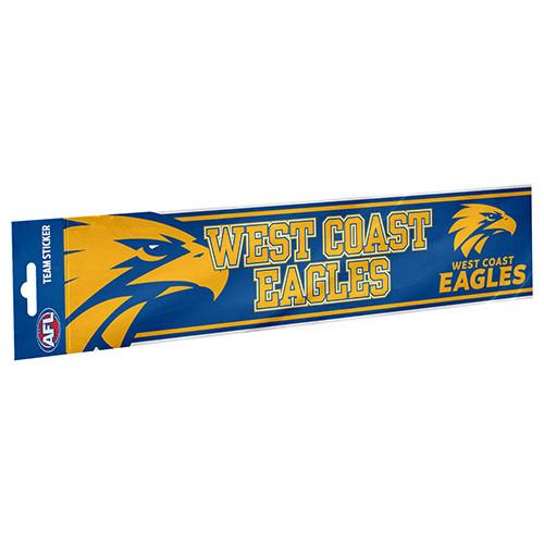 West Coast Eagles Bumper Sticker