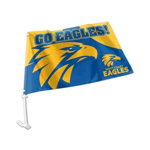 West Coast Eagles Car Flag