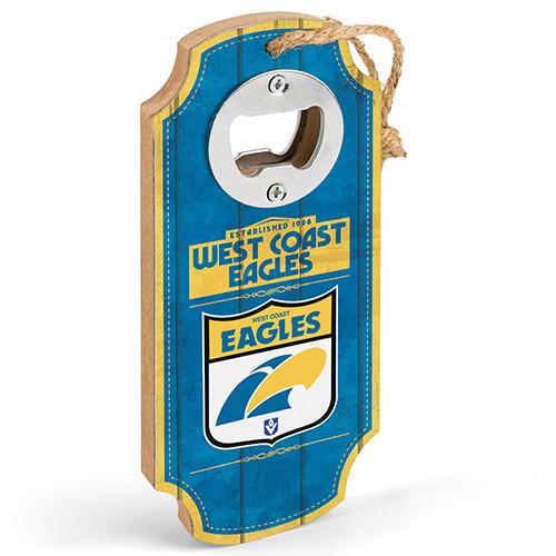 West Coast Eagles F18 Bottle Opener