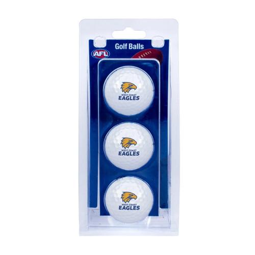 West Coast Eagles Golf Balls