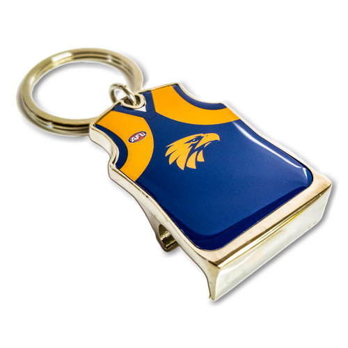 West Coast Eagles Guernsey Bottle Opener Keyring