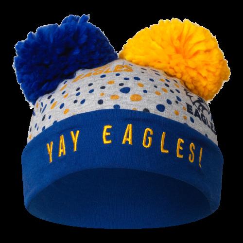 West Coast Eagles Infant Yay Beanie