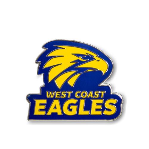 West Coast Eagles Logo Pin