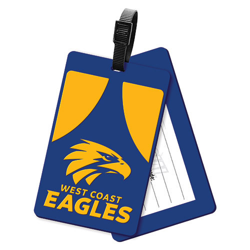 West Coast Eagles Luggage Tag