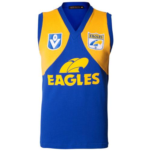 West Coast Eagles Men's Woollen Guernsey Short Sleeve