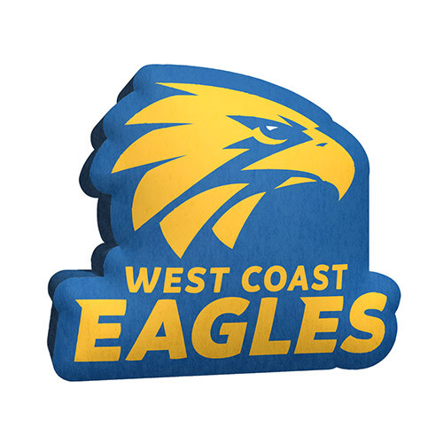 West Coast Eagles Logo Cushion