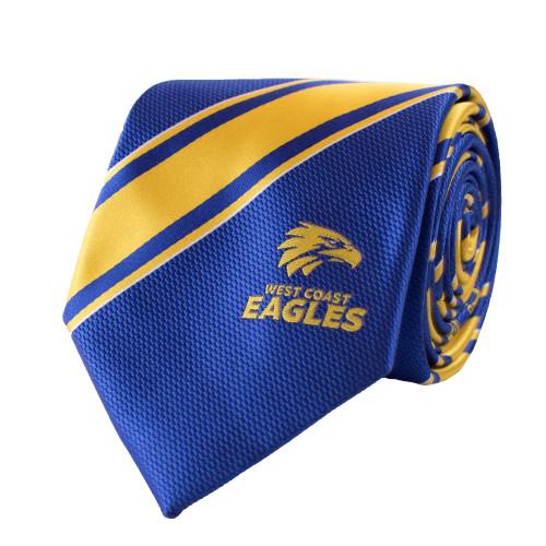 West Coast Eagles Men's Royal Tie