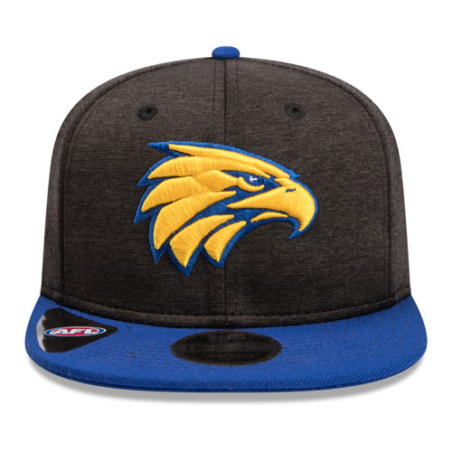 West Coast Eagles New Era 9Fifty Cap Black Shadow/Royal