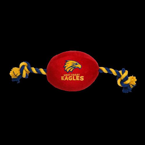 West Coast Eagles Pet Football Toy