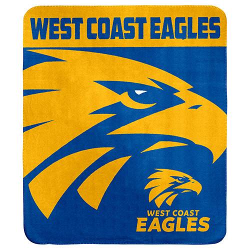 West Coast Eagles Polar Fleece Rug