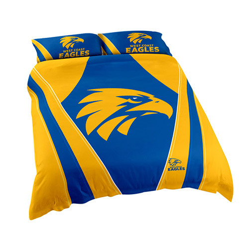 West Coast Eagles Quilt Cover King