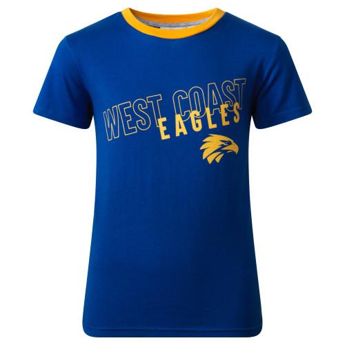 West Coast Eagles S19 Youth Pyjamas