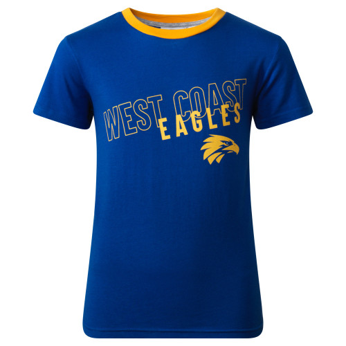 West Coast Eagles Youth Summer Pyjamas