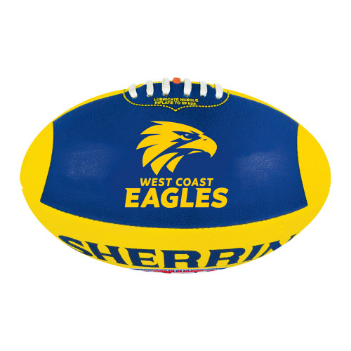 West Coast Eagles Sherrin Synthetic Football Size 5