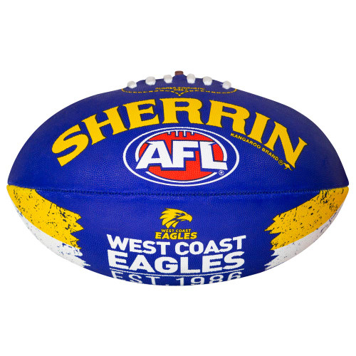 West Coast Eagles Sherrin Song Football