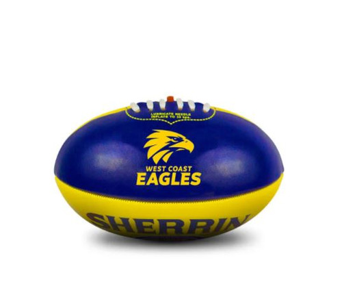 West Coast Eagles Sherrin My 1stFootball Navy/Gold