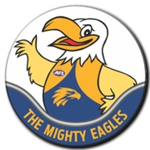 West Coast Eagles Supporter Badge Rick