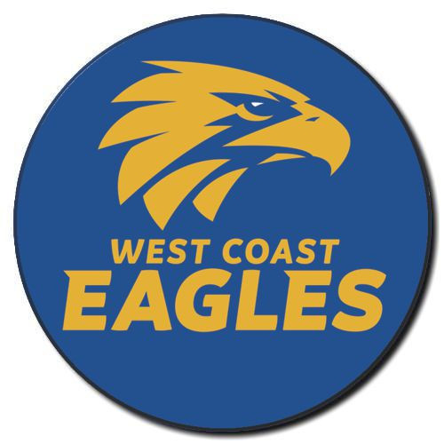 West Coast Eagles Supporter Badge Logo