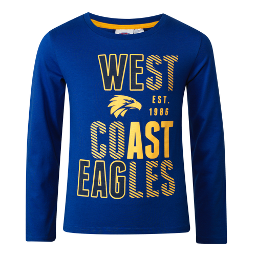 West Coast Eagles Youth Winter Pyjamas