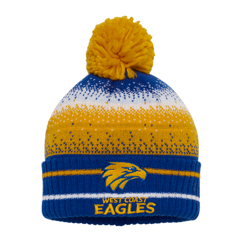 West Coast Eagles Youth Supporter Beanie