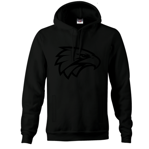 West Coast Eagles Men's Stealth Hoody Black on Black