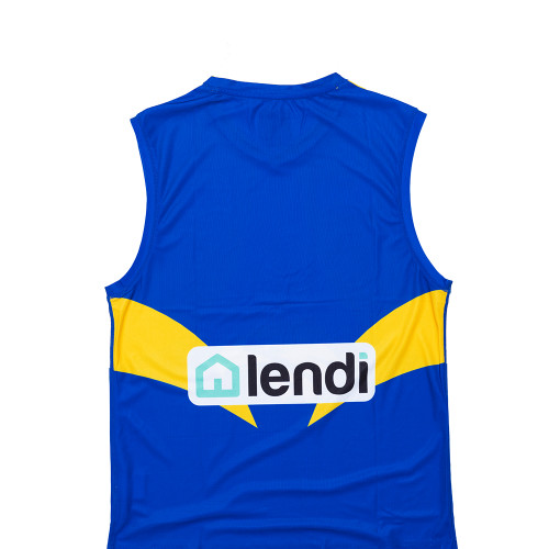 West Coast Eagles Guernsey Heatpress - Player Name and Number