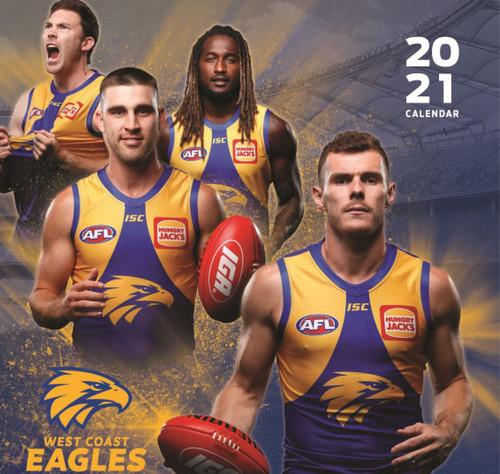 West Coast Eagles 2021 Calendar