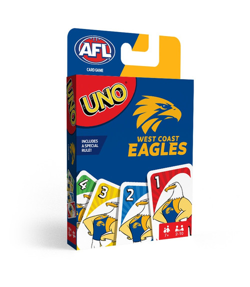West Coast Eagles UNO Card Game