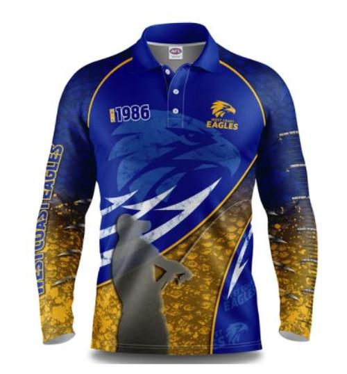 West Coast Eagles Youth Fishing Shirt
