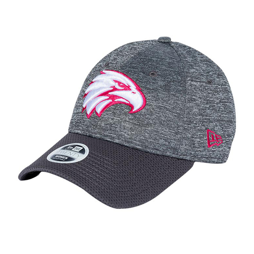 West Coast Eagles New Era Women's 9Twenty Cap Graphite/Pink