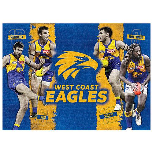 West Coast Eagles 4-Player Puzzle