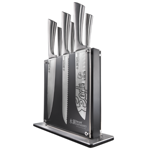 West Coast Eagles Baccarat block 7 Knife set