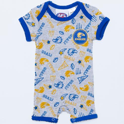West Coast Eagles Infant Summer Bodysuit