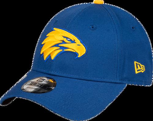 West Coast Eagles New Era 9Forty Retro Side Logo Cap