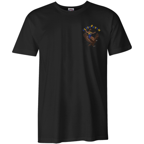 West Coast Eagles Flyin Ryan graphic tee