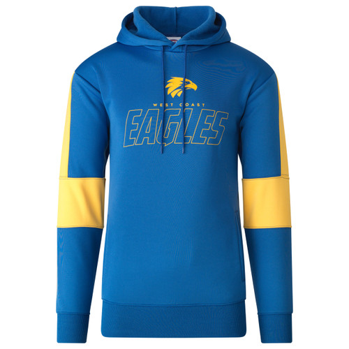 West Coast Eagles Men's Ultra Hood Royal