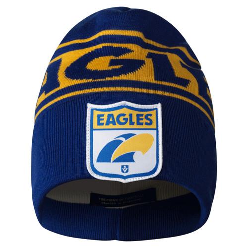 West Coast Eagles Flashback Woollen Beanie